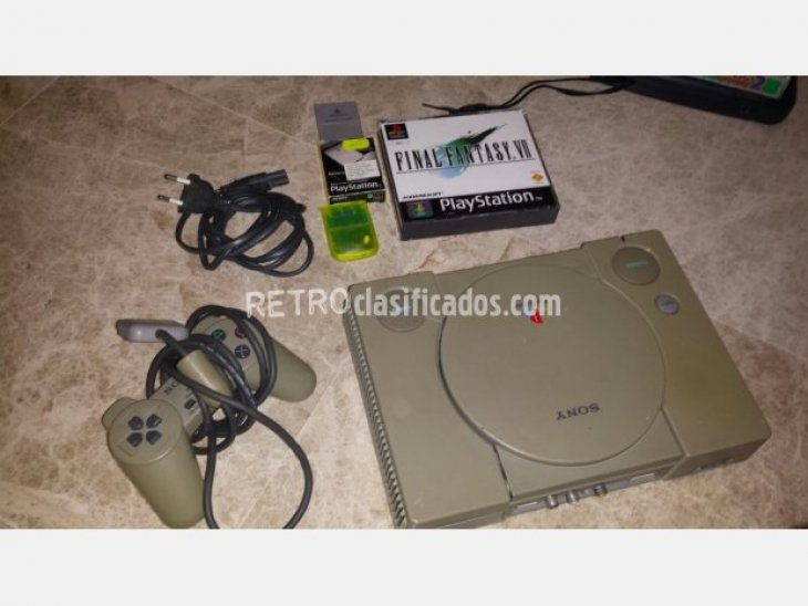 PS1 + mando + chip