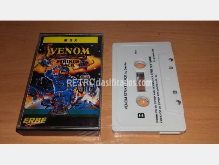 MSX - VENOM STRIKES BACK