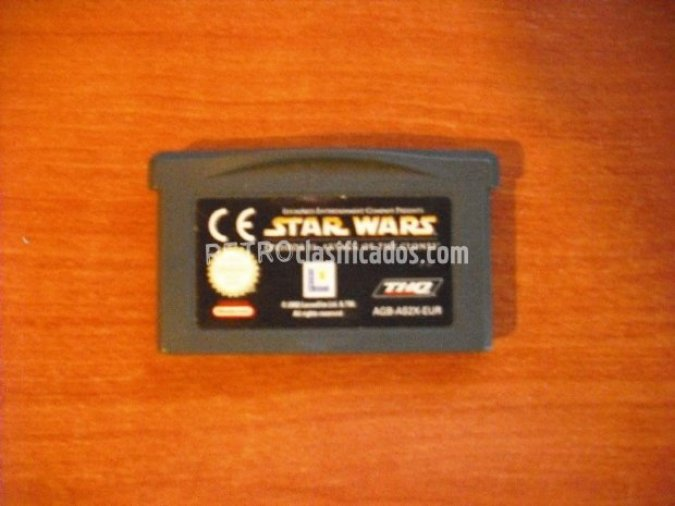 STAR WARS EPISODE II ATACK OF CLONES GBA