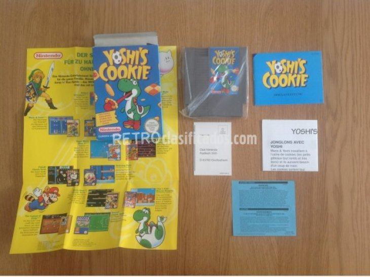 YOSHI'S COOKIE NES PAL COMPLETO 1