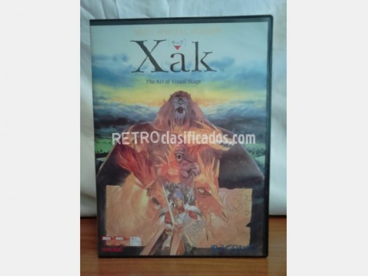 XAK - The Art of Visual Stage 1