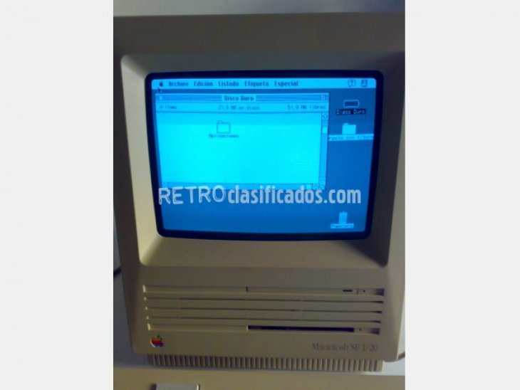 APPLE MACINTOSH SE 1/20 de 1988 7