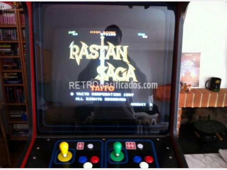 Rastan Saga placa jamma recreativa 4