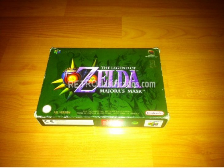 The Legend of Zelda Majoras Mask N64 2