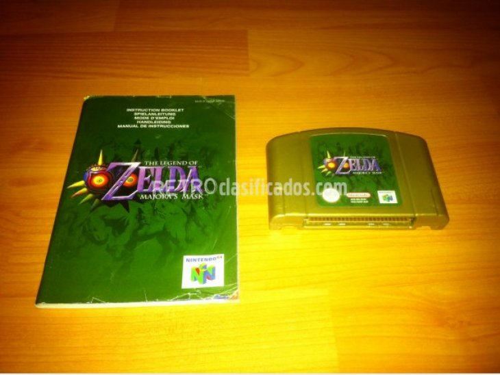 The Legend of Zelda Majoras Mask N64 3