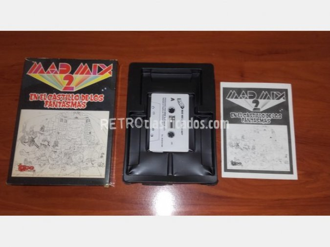 MSX - MAD MIX GAME 2 (CAJA CARTON)