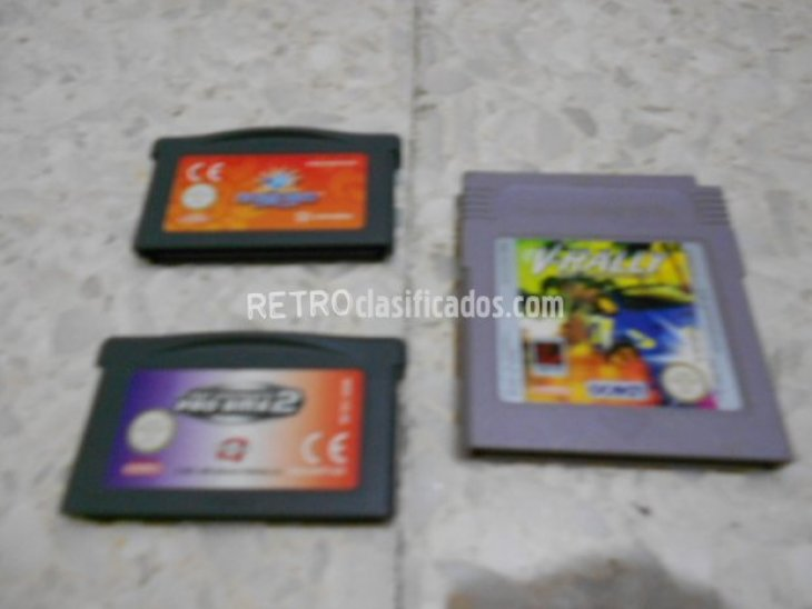 3 CARTUCHOS GAMEBOY 1