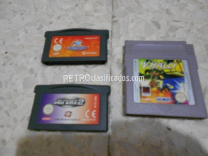 3 CARTUCHOS GAMEBOY 2