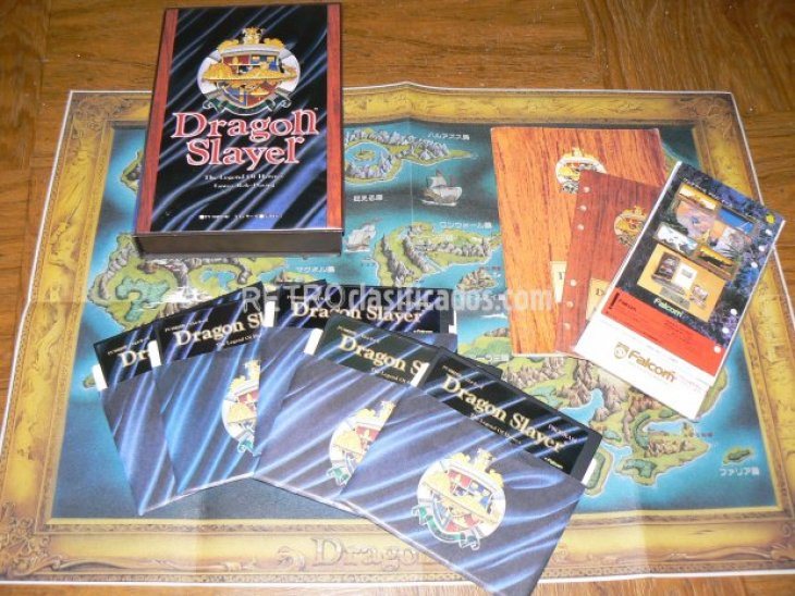 PC-8801 - Dragon Slayer,Legend of Heroes