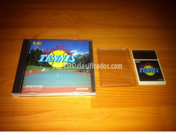 inal Match Tennis PC-ENGINE 1