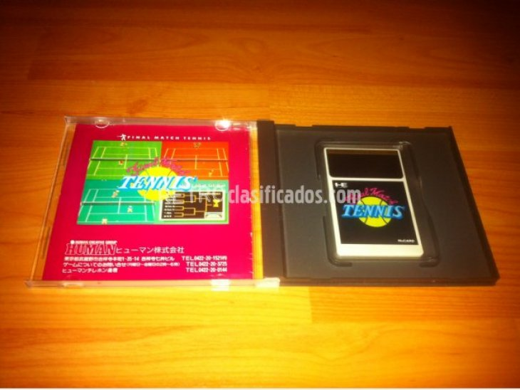 inal Match Tennis PC-ENGINE 2