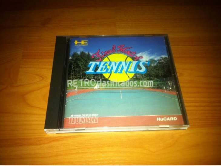 inal Match Tennis PC-ENGINE 3