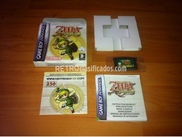 The Legend of Zelda The Minish Cap GBA 1