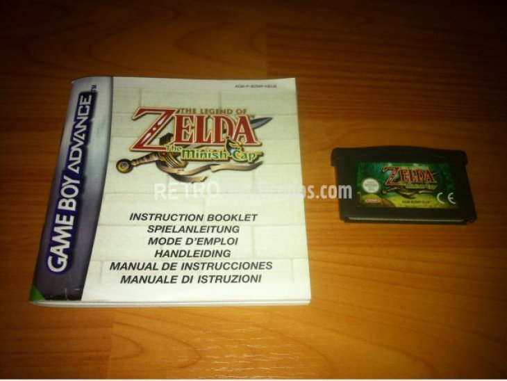 The Legend of Zelda The Minish Cap GBA 2
