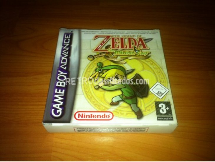 The Legend of Zelda The Minish Cap GBA 3