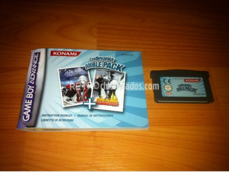 Castlevania Double Pack GBA 2