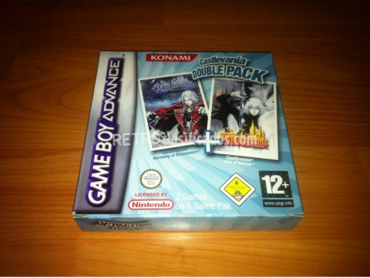 Castlevania Double Pack GBA 3