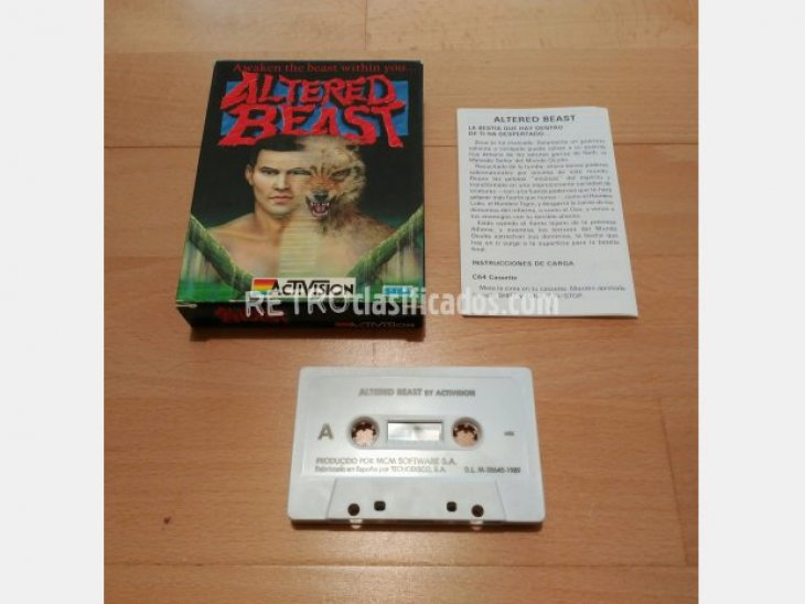 Altered Beast Activision MCM 1989 1