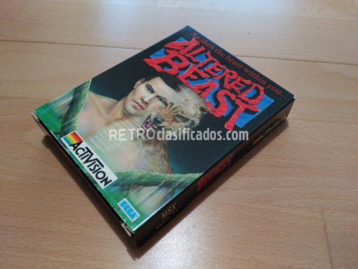 Altered Beast Activision MCM 1989 2