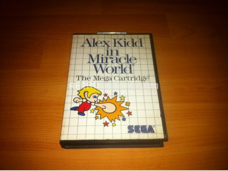 ALEX KIDD IN MIRACLE WORLD MASTER SYSTEM 5