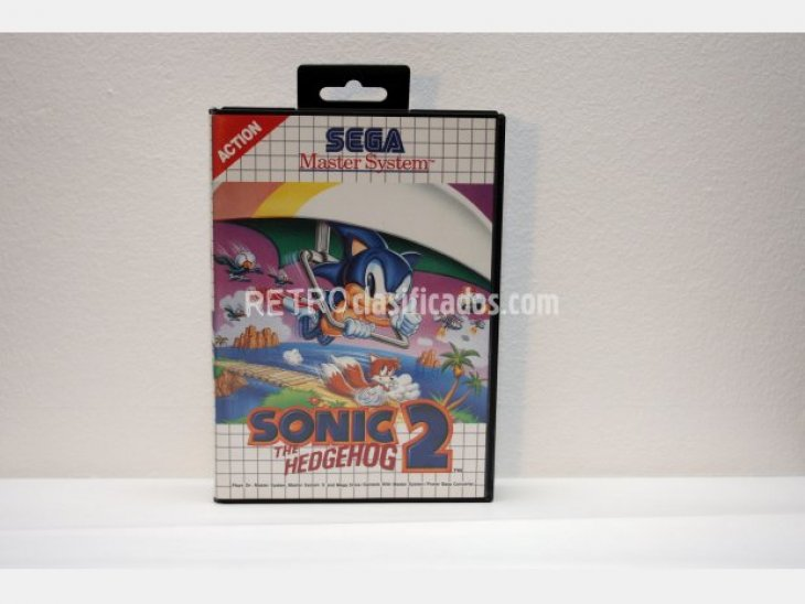 Sonic the hedgehog 2 Master System 1