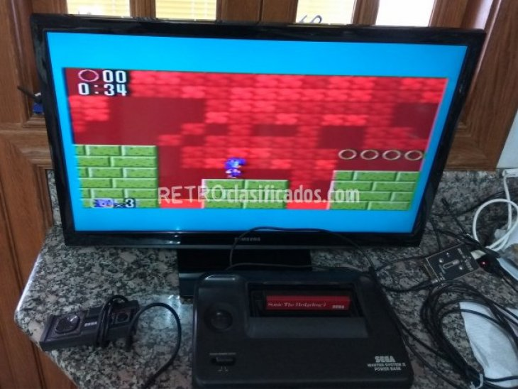Sonic the hedgehog 2 Master System 5