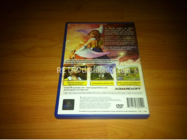 Final Fantasy X PlayStation 2 4