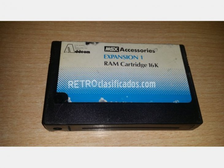 Addeom Expansion RAM Cartridge 1