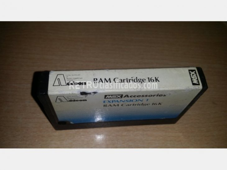 Addeom Expansion RAM Cartridge 2