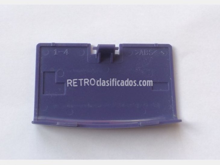 Tapa de batería Game Boy Advance Azul 4