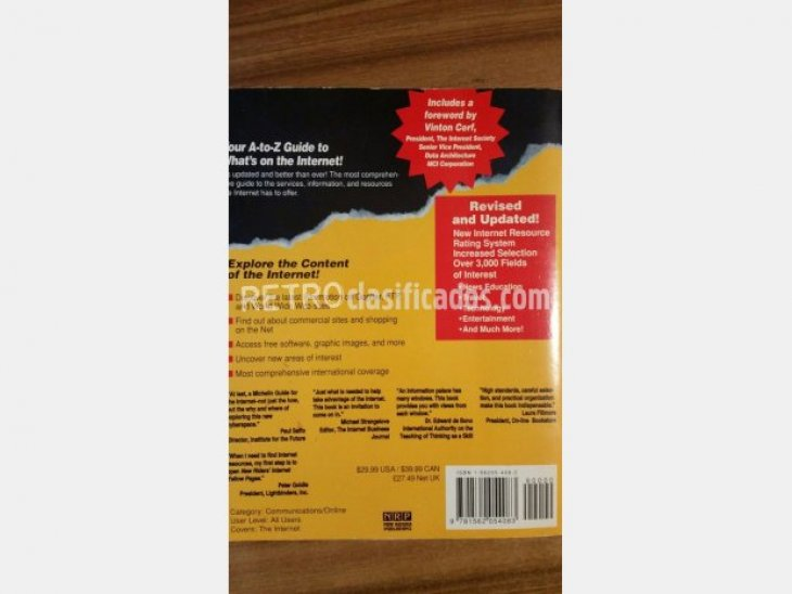 "libro ""Internet Yellow Pages"" 3"