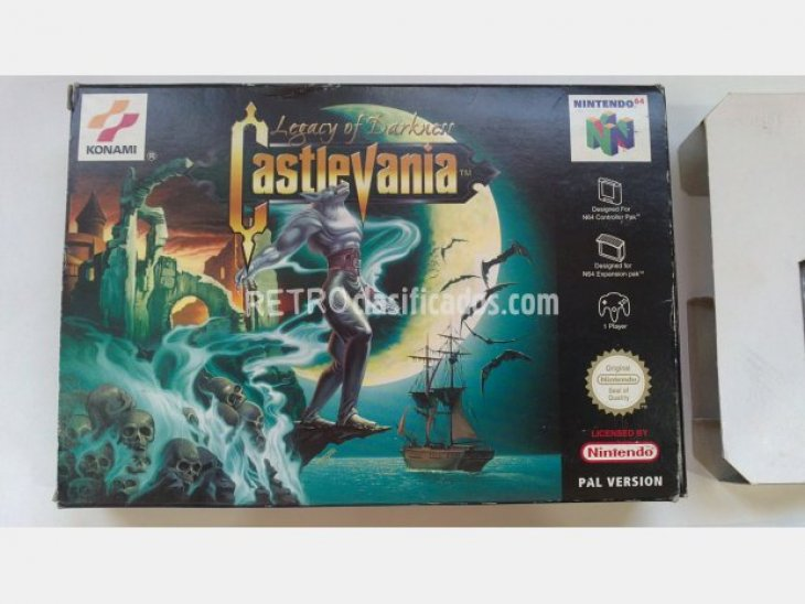 Cartucho castlevania legacy of darkness 4