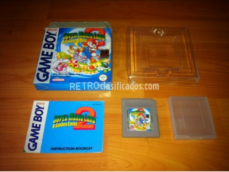 Super Mario Land 2 Game Boy 1