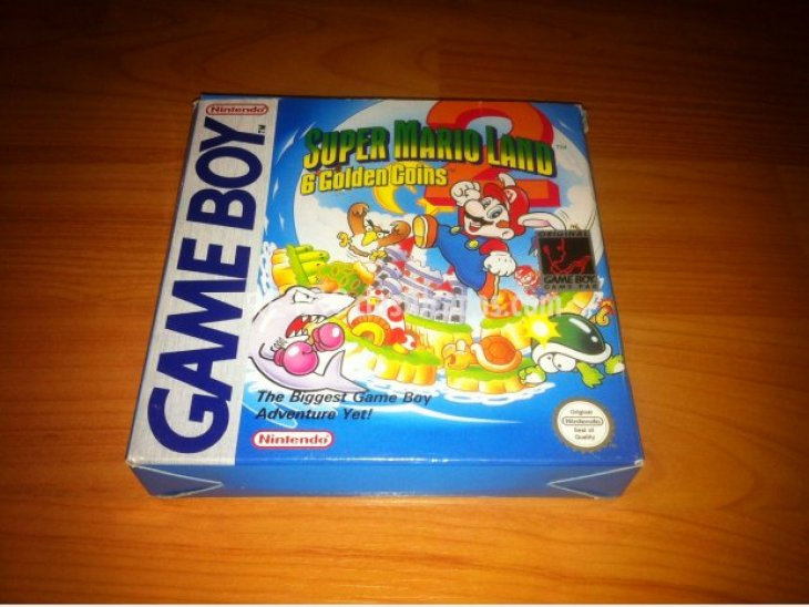 Super Mario Land 2 Game Boy 2