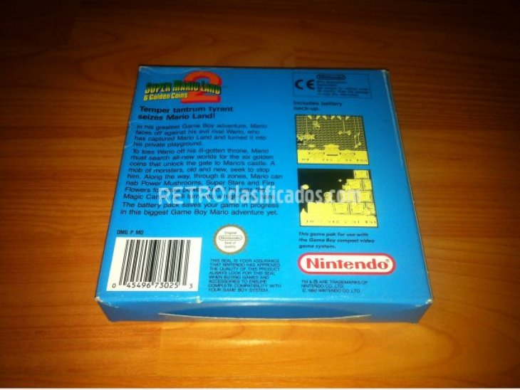 Super Mario Land 2 Game Boy 4