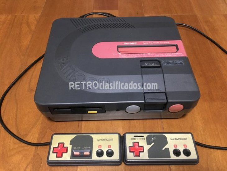 Sharp Twin Famicom negra 1