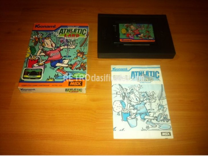 Athletic Land MSX 1