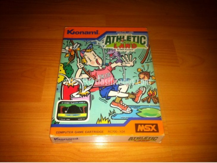 Athletic Land MSX 2