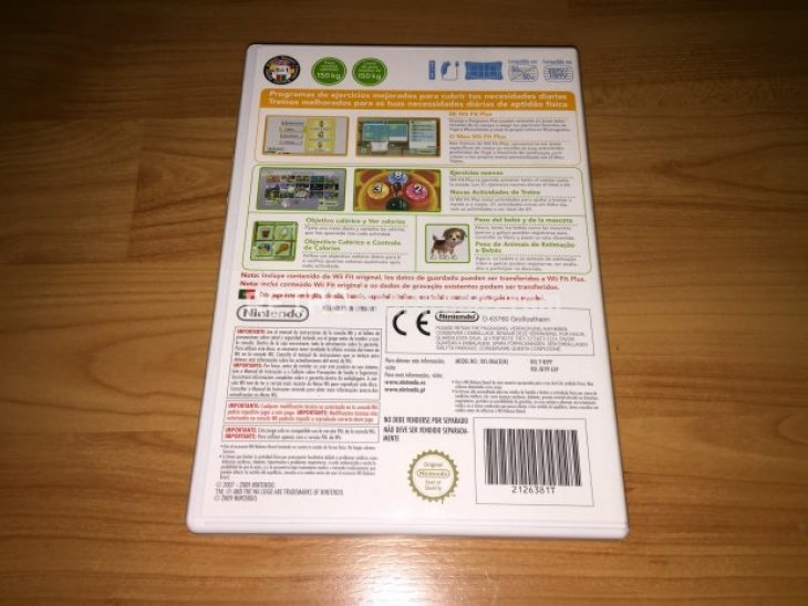 Wii Fit Plus Wii Balance Board original 5