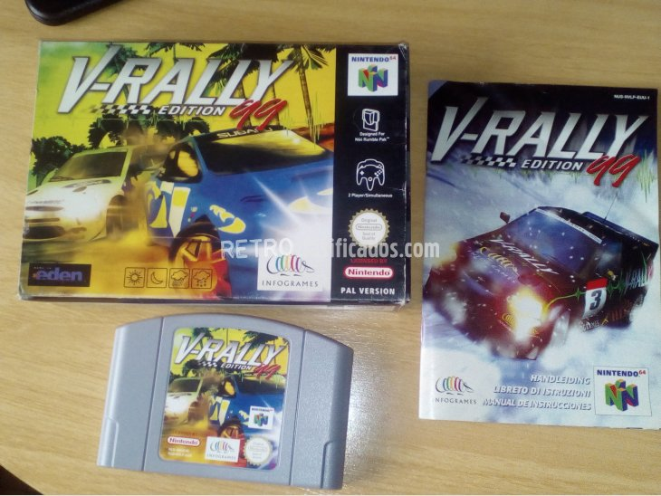 V-RALLY EDITION 99 NINTENDO 64 1