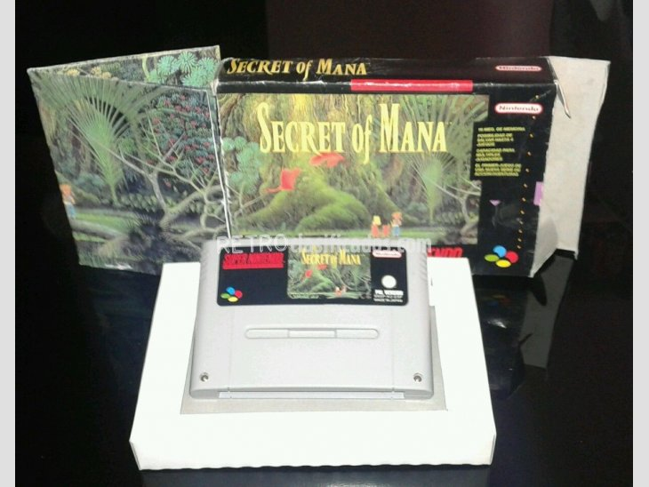 SECRET OF MANA PAL ESP SNES 1