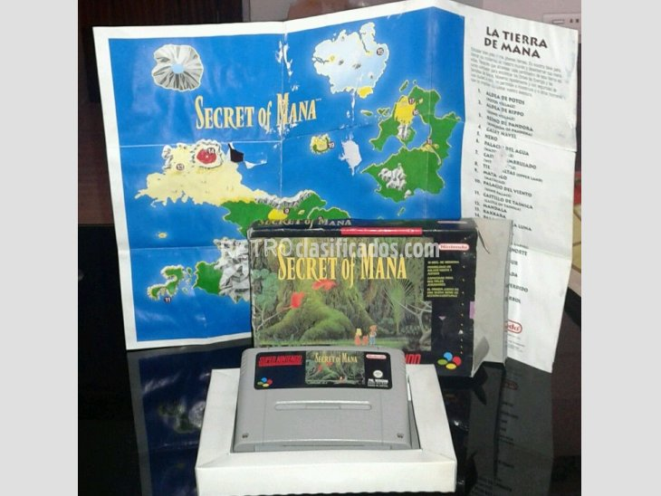 SECRET OF MANA PAL ESP SNES 2