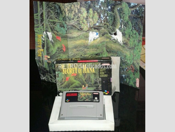 SECRET OF MANA PAL ESP SNES 3