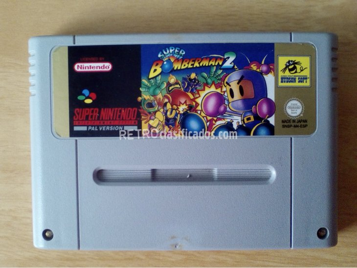 SUPER BOMBERMAN 2 SNES 1