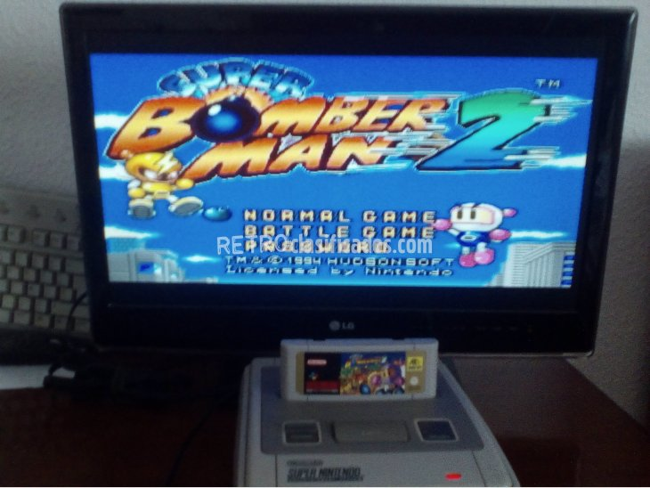 SUPER BOMBERMAN 2 SNES 3