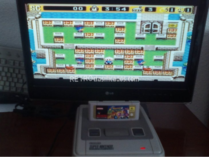 SUPER BOMBERMAN 2 SNES 4