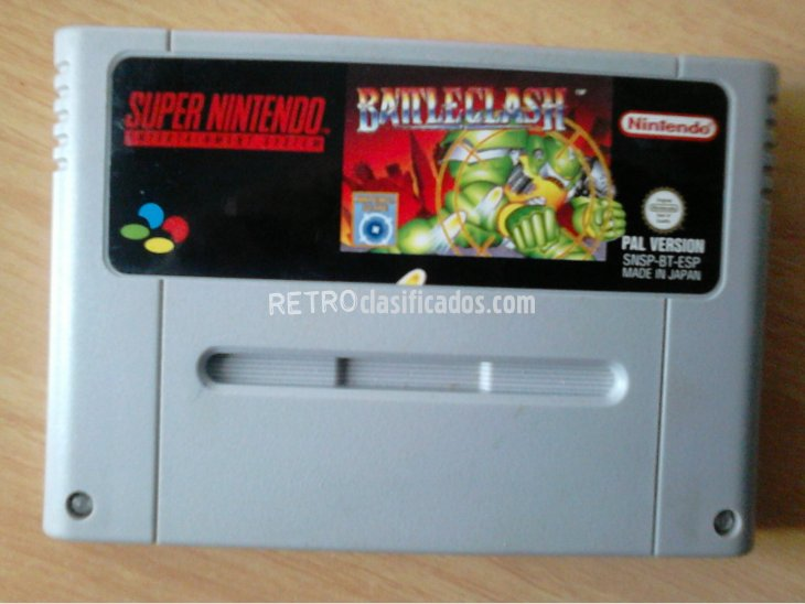 BATTLECLASH SNES 1