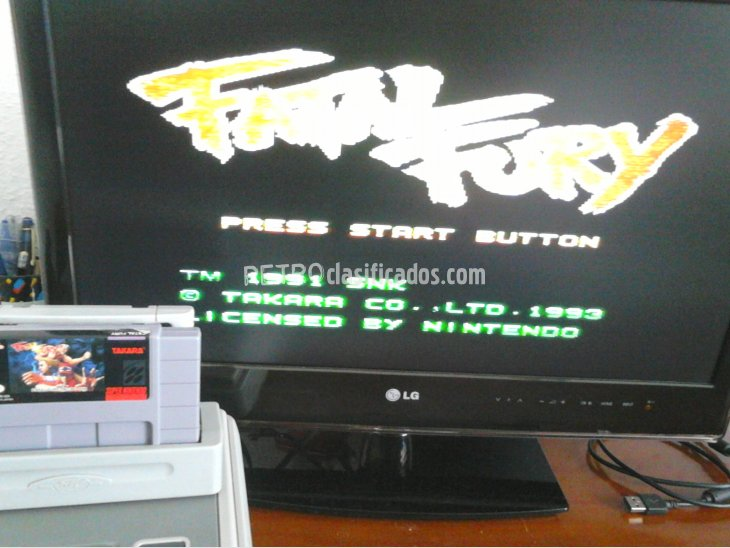 FATAL FURY SNES NTSC USA 3