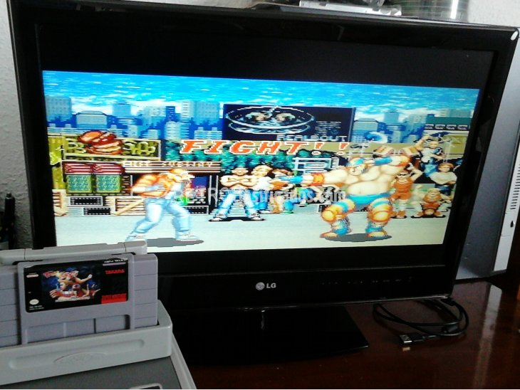 FATAL FURY SNES NTSC USA 4