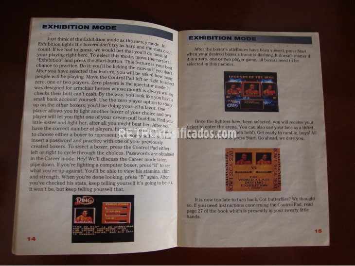 BOXING LEGENDS OF THE RING SNES NTSC 3